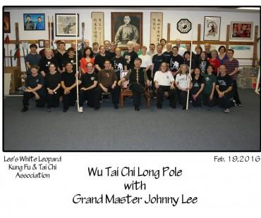 Wu Tai Chi Long Pole