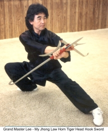Sifu my jhong tiger head hook sword small