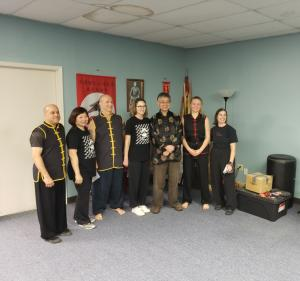 Grand Master Lee & new black belts