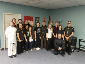 Grand Master Lee & all black belts who  were present